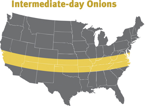 map for states that grow intermediate onoins