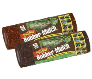 recycled rubber roll out mulch mats