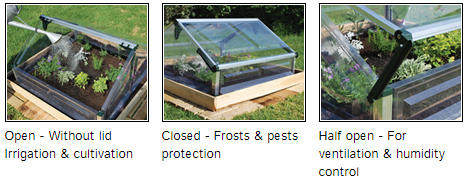 double cold frame kit