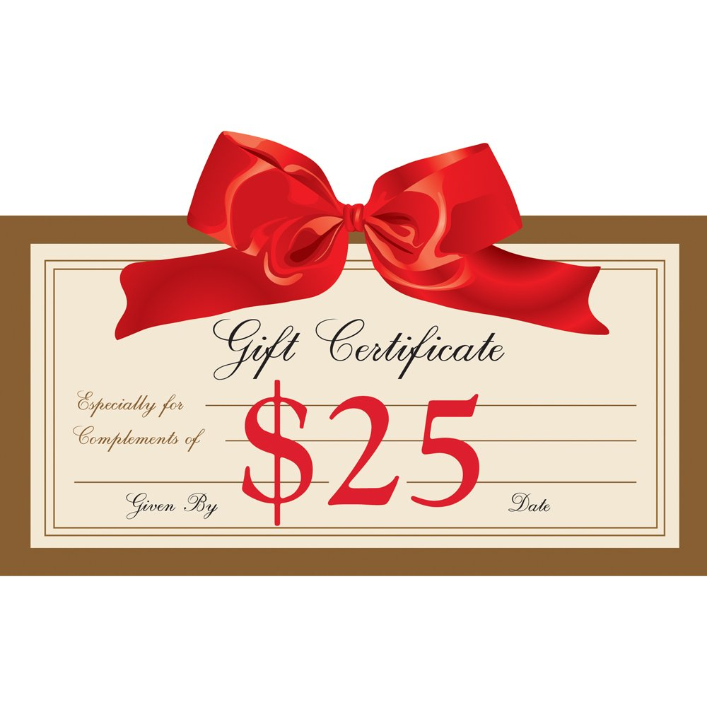 gift certificate certificates pc growjoy dollar